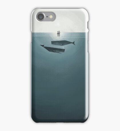 At sea. iPhone Case/Skin