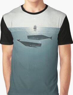 At sea. Graphic T-Shirt