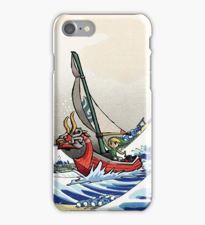 Legend of Zelda Great Wave Windwaker iPhone Case/Skin