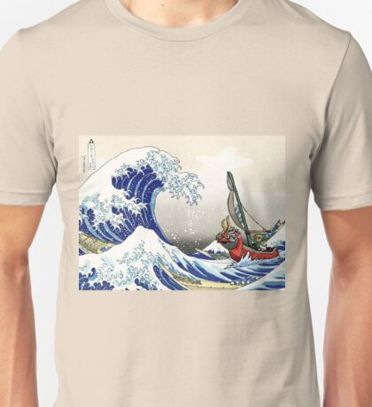 Legend of Zelda Great Wave Windwaker Unisex T-Shirt