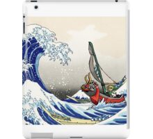 Legend of Zelda Great Wave Windwaker iPad Case/Skin