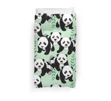 Panda Bears Graphic Pattern Duvet Cover