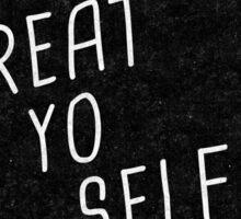 Treat Yo Self | Batman Sticker