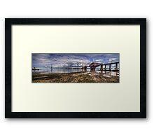 The Bridges Panorama Framed Print