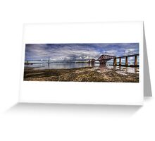 The Bridges Panorama Greeting Card