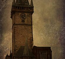 Mysterious Tower  by Maria Heyens