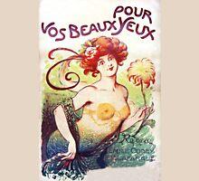 Art Nouveau Vos Beaux Pour Yeux illustration Womens Fitted T-Shirt