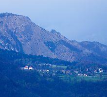 Mountain village by Ian Middleton