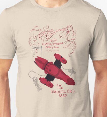 I Solemnly Swear I Aim To Misbehave (back) Unisex T-Shirt