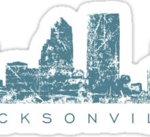 Jacksonville, Florida Skyline Sticker