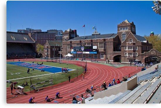 USA. Philadelphia. University of Pennsylvania. Stadium. by vadim19