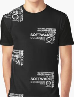 Programmer : Typography Programming Graphic T-Shirt