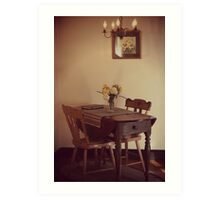 18th Century Dining Art Print