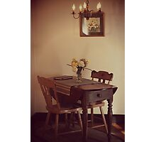 18th Century Dining Photographic Print