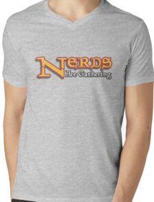Nerds Are Gathering - Magic The Gathering MTG Spoof Mens V-Neck T-Shirt