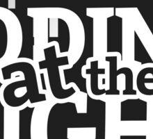 Programmer T-shirt : Coding at the night Sticker