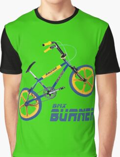 Retro BMX Burner T-shirt Graphic T-Shirt