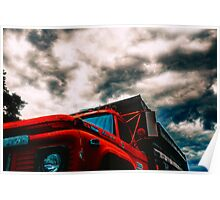 Storm Truck Poster