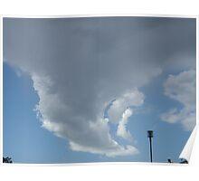 Unique Cloud Formation Poster