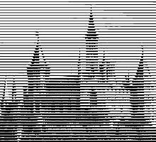 pic2line - Castle by AnnoNiem