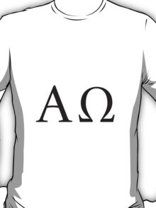 the Alpha and the Omega T-Shirt