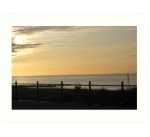 Sunset across Fleetwood Art Print