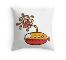 submarine Throw Pillow