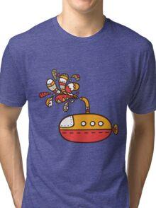 submarine Tri-blend T-Shirt
