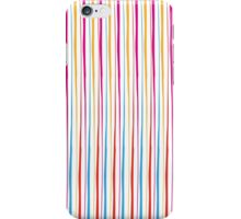 Happy Wobbly Lines II iPhone Case/Skin