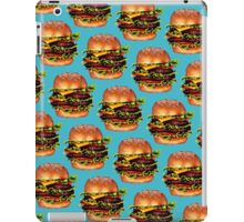 Double Cheeseburger 2 Pattern iPad Case/Skin