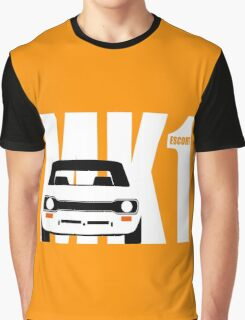 MK 1 ESCORT RS 1800 2000 MEXICO MEN'S T-SHIRTS Graphic T-Shirt