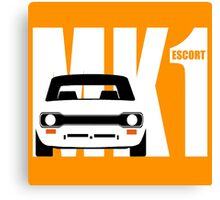 MK 1 ESCORT RS 1800 2000 MEXICO MEN'S T-SHIRTS Canvas Print