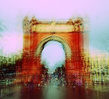 Memories of Spain 7 - Arc de Triomf in Barcelona by Igor Shrayer
