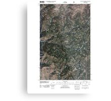 USGS Topo Map Washington State WA Loup Loup Summit 20110429 TM Metal Print