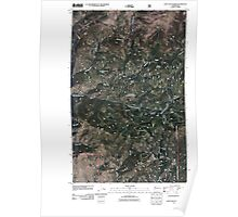 USGS Topo Map Washington State WA Loup Loup Summit 20110429 TM Poster