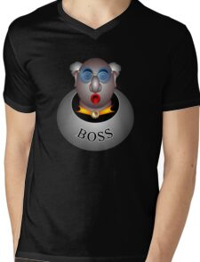 Boss Mens V-Neck T-Shirt
