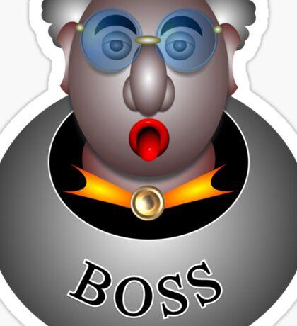 Boss Sticker