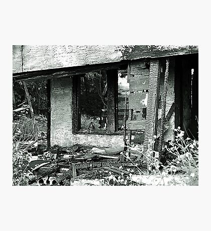 House Fire Photographic Print