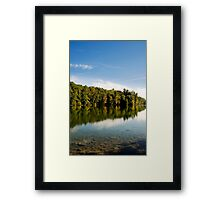 Reflection of a New Day Framed Print