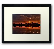 The Rising of a New Day Framed Print