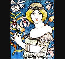 Art Nouveau and Celtic art inspired illustration  T-Shirt