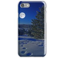 Moonlight night iPhone Case/Skin