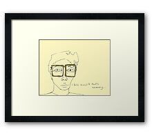 Army Specs Framed Print
