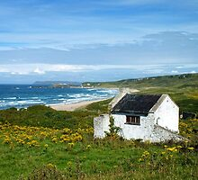 Another angle on Whitepark Bay, Antrim, Northern Ireland by Ludwig Wagner
