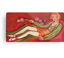 Summer Lounge Metal Print