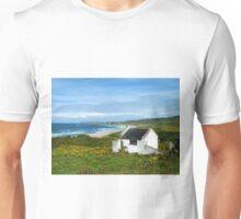 Another angle on Whitepark Bay, Antrim, Northern Ireland Unisex T-Shirt