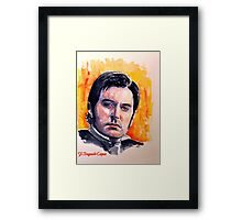 Richard, featured in Shamless Self-Promotion Framed Print