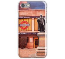 Tooting Broadway Station, SW17, London iPhone Case/Skin