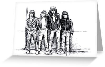New York Punk Rock  by Higgybaby