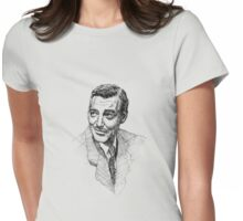 Clark Gable Womens Fitted T-Shirt